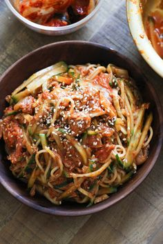 Perfect noodle recipe for hot summer days, easy to assemble and ready in 15 minutes!
