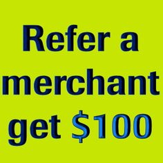 We appreciate your business and would like to offer you an opportunity to earn a referral bonus! Send us the name of another merchant you feel can benefit from our great rates and services and we will send you $100 when they sign up! You can refer as many merchants as you like. Merchant Account, As You Like, Benefit, Opportunity, How Are You Feeling, Sign, Feelings, Friends, Business