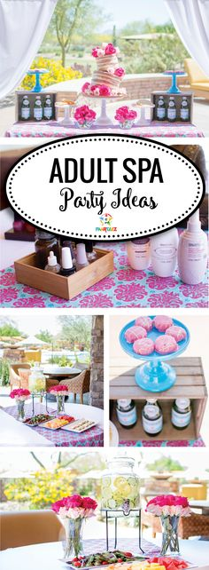 Adult Spa Party