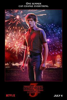 Netflix has released 14 Stranger Things Season 3 character posters ahead of the season premiere. The series returns to Netflix on July Stranger Things Netflix, Stranger Things Jonathan, Stranger Things Characters, Stranger Things Quote, Stranger Things Aesthetic, Stranger Things Season 3, 3 Characters, Stranger Things Spoilers, Duffer Brothers