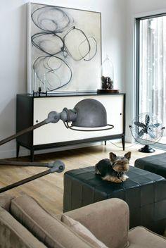 desire to inspire - EricStriffler  #art, also dog.  :-)