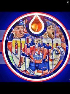 BANNERS by MIKEY VON DOOM Edmonton Oilers, National Hockey League, Hockey Players, Nhl, Banners, Club, Orange, Boys, Sports