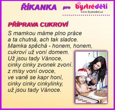 Cukroví Aa School, School Clubs, Advent, Christmas Time, Activities, Learning, Memes, Children, Young Children