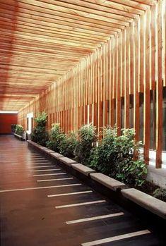 28 Pergola Design Ideas - The Architects Diary - Pergola Ideas Architecture Design, Light Architecture, Landscape Architecture, Landscape Design, Chinese Architecture, Futuristic Architecture, Architecture Office, Natural Architecture, Contemporary Landscape