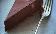 Chocolate Rum Pie