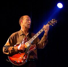 John Scofield-- is an American jazz-rock guitarist and composer, who has played and collaborated with Miles Davis, Dave Liebman, Joe Henderson, Charles Mingus, Joey DeFrancesco, Herbie Hancock, Pat Metheny etc.