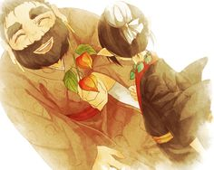 Hoozuki no Reitetsu (Cool-headed Hoozuki) Image - Zerochan Anime Image Board Anime Guys, Manga Anime, Anime Art, Anime Life, Nihon, A Cartoon, Vocaloid, Illustration Art, Fan Art