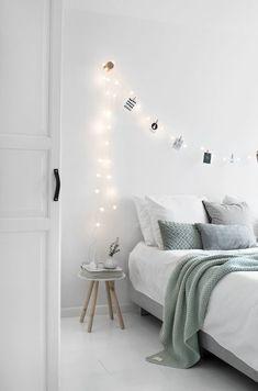Modern And Stylish Scandinavian Bedroom Decor on Home Inteior Ideas 8216 Dream Rooms, Dream Bedroom, Home Bedroom, Bedroom Ideas, Bedroom Inspiration, Bedroom Photos, Bedroom Designs, Bedroom Mint, Bedroom 2017