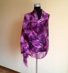 Burgundy summer silk scarf gift for her hand painted scarf # Burgundyscarf Female Pleasure, Batik Art, Summer Accessories, Handmade Clothes, Silk Scarves, Etsy Handmade, Fun Stuff, Gifts For Her, Burgundy