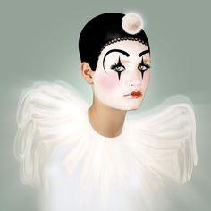 Pierrot 12x12
