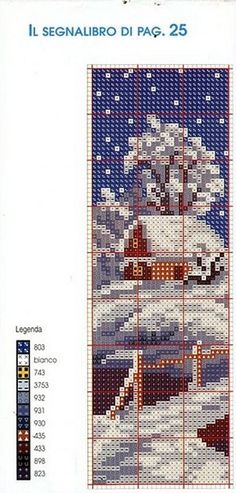 Christmas Bookmark Chart