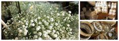 Kukla Decor - dekoracje kwiatowe: Eko wesele - gipsówka w otoczeniu świec
