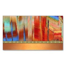 Native americanturquoiserustic business card pack of standard southwest abstract design painting business cards colourmoves Choice Image