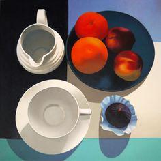"""Saatchi Art Artist: Robert McPartland; Oil 2014 Painting """"A Day"""""""