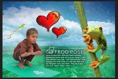 Yoga - Frog Pose