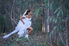 Home and Away spoiler pictures show Leah Patterson-Baker make her escape from Douglas Home And Away Spoilers, Got Married, Getting Married, Home And Away Cast, Take The Opportunity, Picture Show, It Cast, White Dress, Wedding Dresses