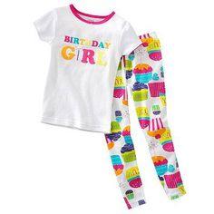 Custom Girls Pink Pancakes and Pajamas Birthday PJs - Pancake and ...