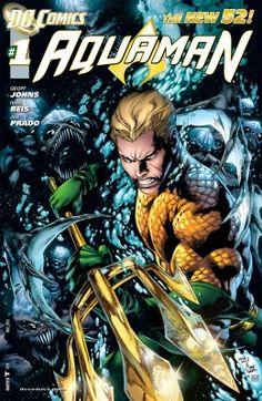 Aquaman (New Vol. The Trench by Geoff Johns. Art by Ivan Reis ( buy ) New 52 Rating: Sep DC Comics , Batman, Superman, Prado, Comic Book Covers, Comic Books Art, Comic Art, Comic Poster, Dc Comics, Free Comics