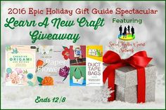 Welcome to the 2016 Epic Holiday Gift Guide Zubels Christmas Giveaway! This contest is hosted by the Social Media Gurus Network ! Holiday Gift Guide, Holiday Gifts, New Crafts, Crafts For Kids, Christmas Giveaways, Christmas Activities, Christmas Crafts, Diy Art, Create Your Own