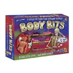 John Adams Action Science Body Bits  A Gross introduction to human science   Construct a detailed skeleton and then  surgically  insert  http://www.comparestoreprices.co.uk/creative-toys/john-adams-action-science-body-bits.asp