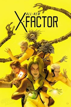 All New X-Factor #20 variant cover by by Alex Garner *
