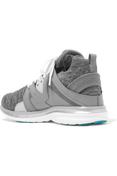 official photos 45a74 13841 APL Athletic Propulsion Labs - Ascend Techloom Quilted Jersey And Rubber  Sneakers - Gray