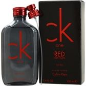 Launched by the design house of Calvin Klein in 2013, CK ONE RED EDITION by Calvin Klein for Men posesses a blend of:  It is recommended for  wear.