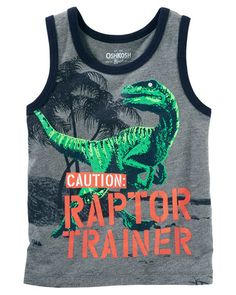 Baby Boy Ringer Tank from OshKosh B'gosh. Shop clothing & accessories from a trusted name in kids, toddlers, and baby clothes.