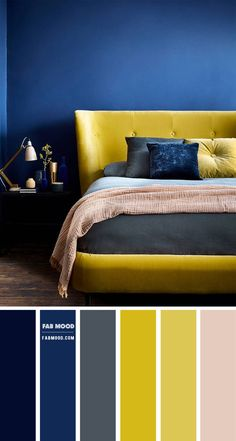 5. Navy Blue and Yellow Colour Scheme Hey lovely people! Hope you all had a wonderful Christmas, and wishing you all a great new...