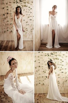 Gorgeous Boho Wedding Gowns by Grace Loves Lace | www.onefabday.com