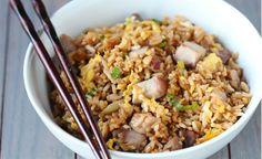 Pork Fried Rice #recipe #food