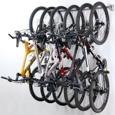 Monkey Bars 51 in. 6-Bike Storage Rack-01006 at The Home Depot