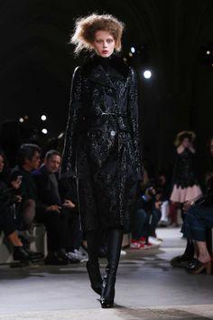 Alexander McQueen Ready To Wear Fall Winter 2015 Paris Show opener Lauren de Graaf