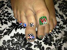 NASCAR nails!