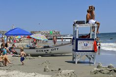 Basically the exact spot where I spend all my Summer's! My life wouldn't be the same without OCNJ<3  boardwalk.food.lifeguards.friends.long nights.rides.sand.sun.bikes.parasailing.