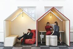 The Hut | Acoustic office hut | Office meeting hut