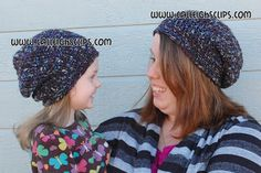 Calleigh's Clips & Crochet Creations: Sunset Slouchy Hat - Free Crochet Pattern