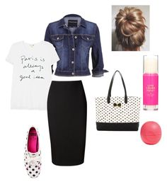 Untitled #144 by bizzybelle16 on Polyvore featuring polyvore, fashion, style, Sundry, maurices, Victoria Beckham, Kate Spade, Betsey Johnson and Eos