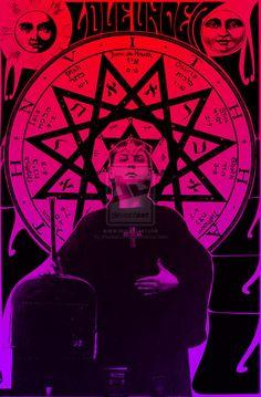 Aleister Crowley by AlexaurusRex on deviantART
