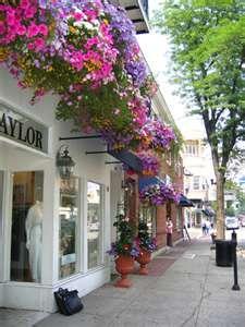 Beautiful downtown Westfield, NJ...winner of the 2004 Great American Main Street Award.