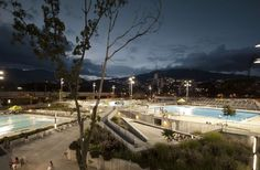 The new aquatic center in Medellin meets the needs of future competitions as…