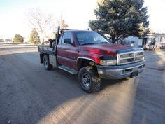 $5,850.00 - 1998 Dodge 3/4 ton 4X4 Flatbed