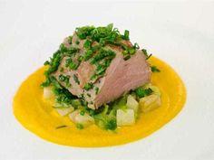 Salsa Bearnese: Una salsa, original de Francia, con mucho carácter, especial para acompañar con carnes a la brasa.