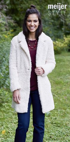 From faux furs to military vests, fall is all about layering. Get the look at MeijerStyle.com #MeijerStyle