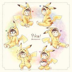 「おそ松さん」面白画像集【ツイッターまとめ】 - NAVER まとめ Pikachu, Pokemon, Ichimatsu, Dear God, Anime Guys, Cute, Movies, Fictional Characters, Crossover
