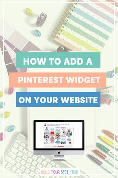How to Add a Pinterest Widget to your WordPress Website. Learn how to add an image of your Pinterest board, pin or profile to your website. Luckily there is an easy way to display your Pinterest Board, pins or profile on your website that does not require you to install an app on WordPress. Pinterest widget // Pinterest growth // build your best year // Pinterest widget plugin