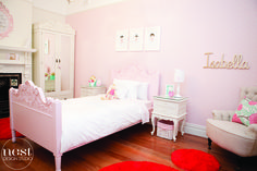 Sophisticated Chic Big Girl Room