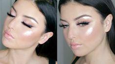 Blush Tones & Smokey Liner | Datenight Makeup