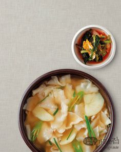 Sujebi (수제비): Korean hand pulled noodle soup