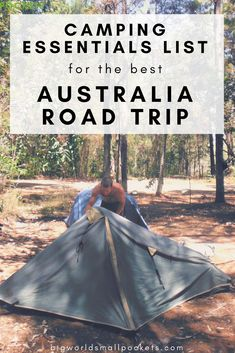 Camping Essentials List for Australia Road Tripping Tents - Camping Essentials . - Camping Essentials List for Australia Road Tripping Tents – Camping Essentials List for Australi - Camping Diy, Retro Camping, Camping Needs, Camping Packing, Camping Theme, Camping With Kids, Family Camping, Camping Gear, Camping Hacks